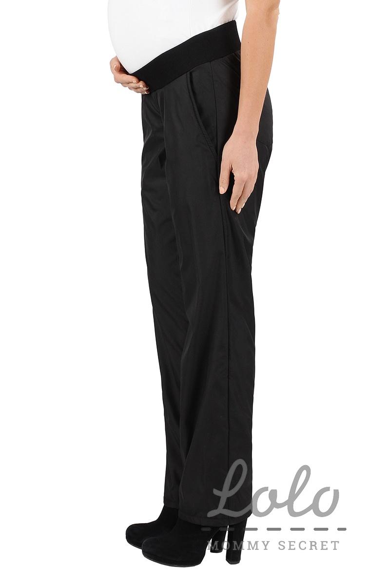 Утепленные брюки для беременных Trz004 на флисе с резинкой под живот ... c23cbaff8ec