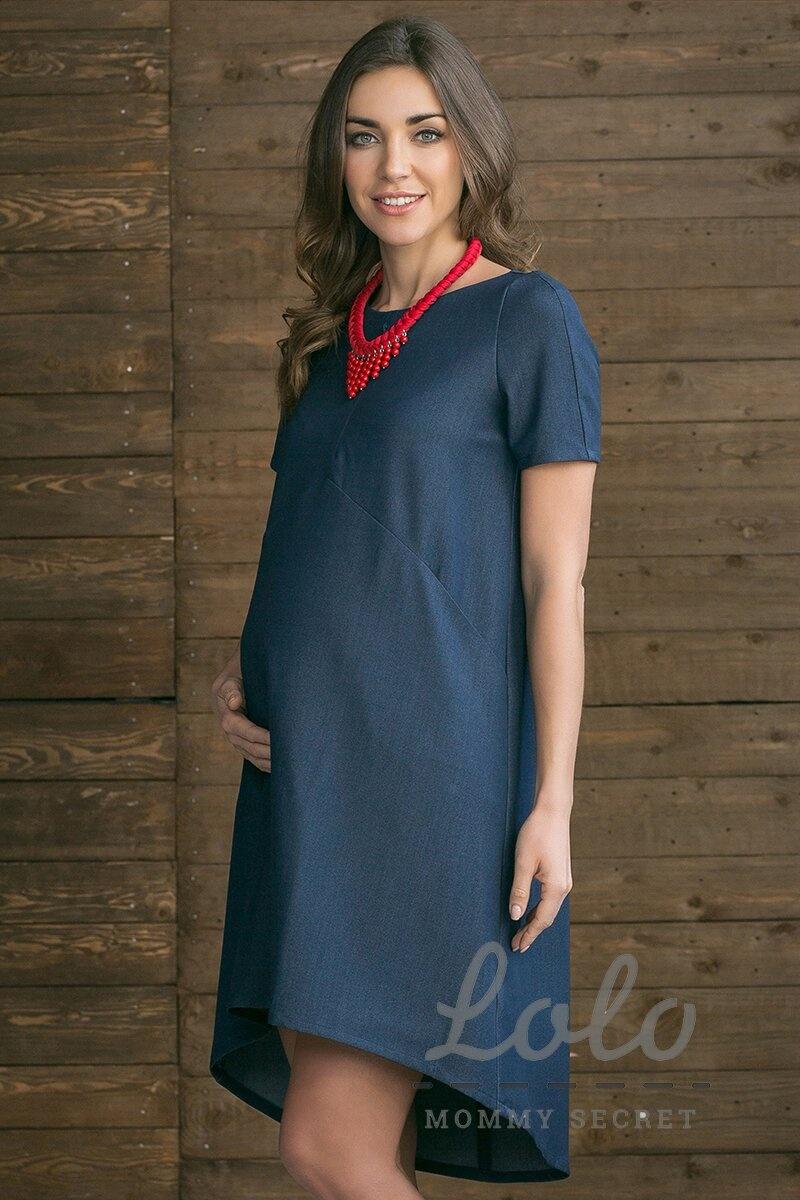 Платье для беременных и кормящих мам Dr031 джинсовое Арт. 3031-1-0 ... 673c6ac9654